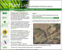 The Plant List